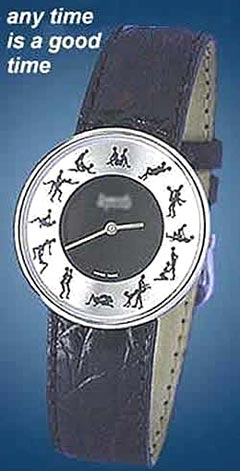 A must buy time-piece for those who believe that sexual urge knows no time