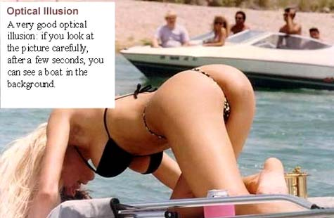 Check out one of the greatest optical illusion of all times...
