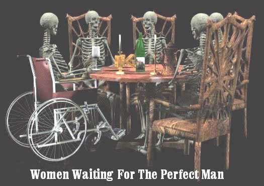 Women waiting for the Perfect Man